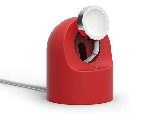 Apple Watch Charging Cable & Stand (Red)