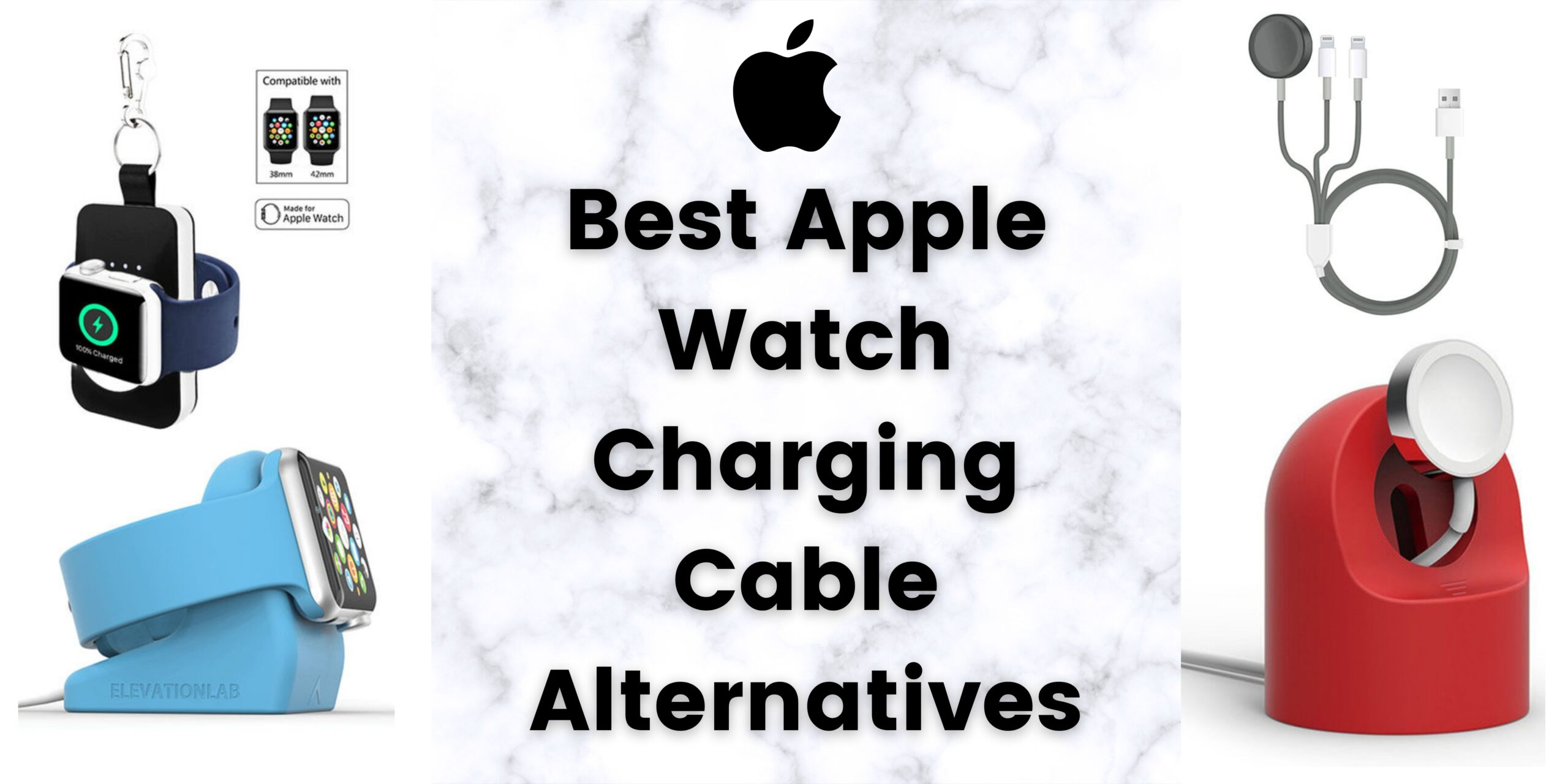 5 Best Apple Watch Charging Cable Alternatives