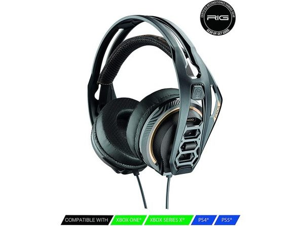 RIG 400 PRO HC Stereo Gaming Headset for Console - Certified Refurbished Brown Box