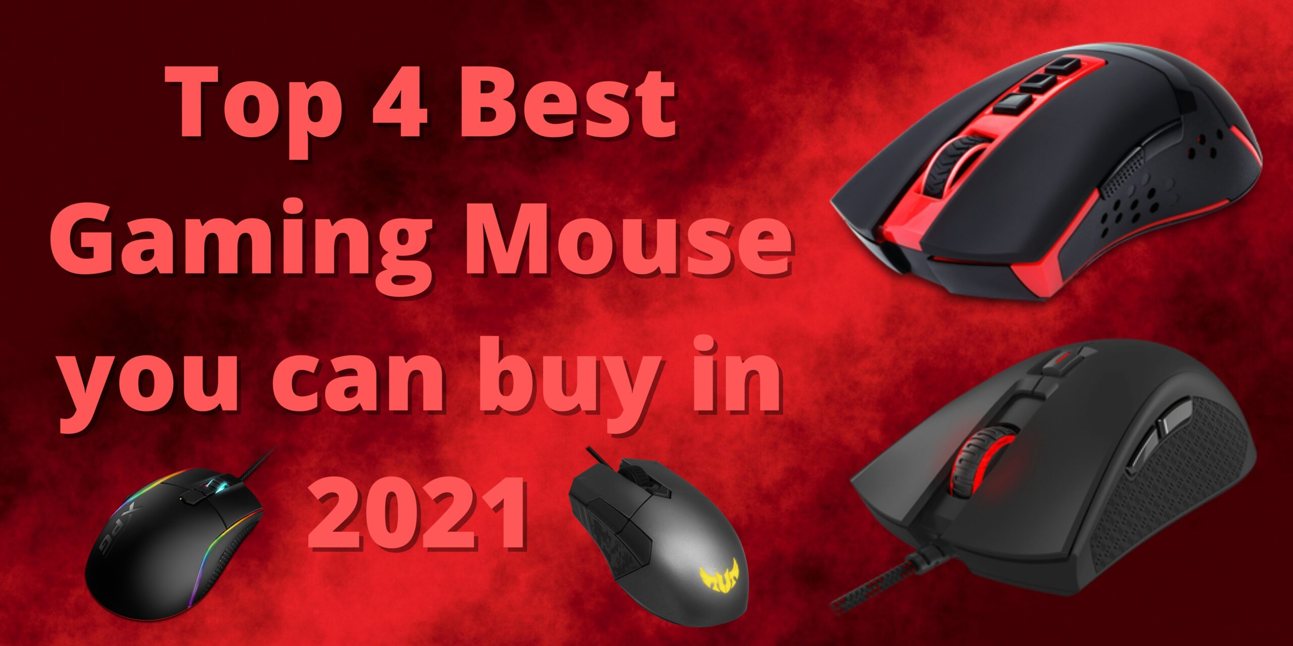 Top 4 Best Gaming Mouse