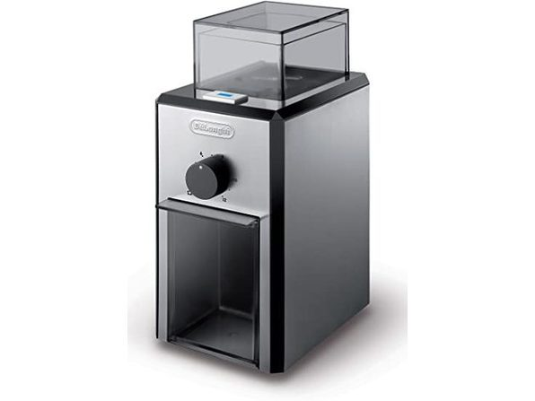 De'Longhi KG89 Burr Coffee Grinder with Grind Selector & Quantity Control- (Used, Damaged Retail Box)