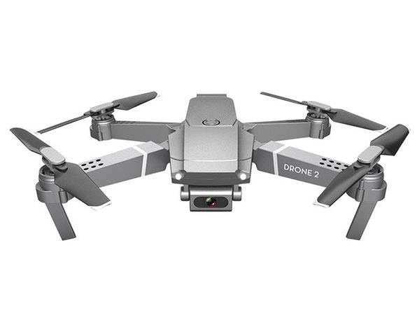 Newest Gray E68 Drone 2 with 4K/1080P Wide-Angle Camera & WiFi