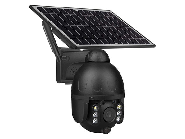 Solar-Powered Outdoor WiFi Security Camera