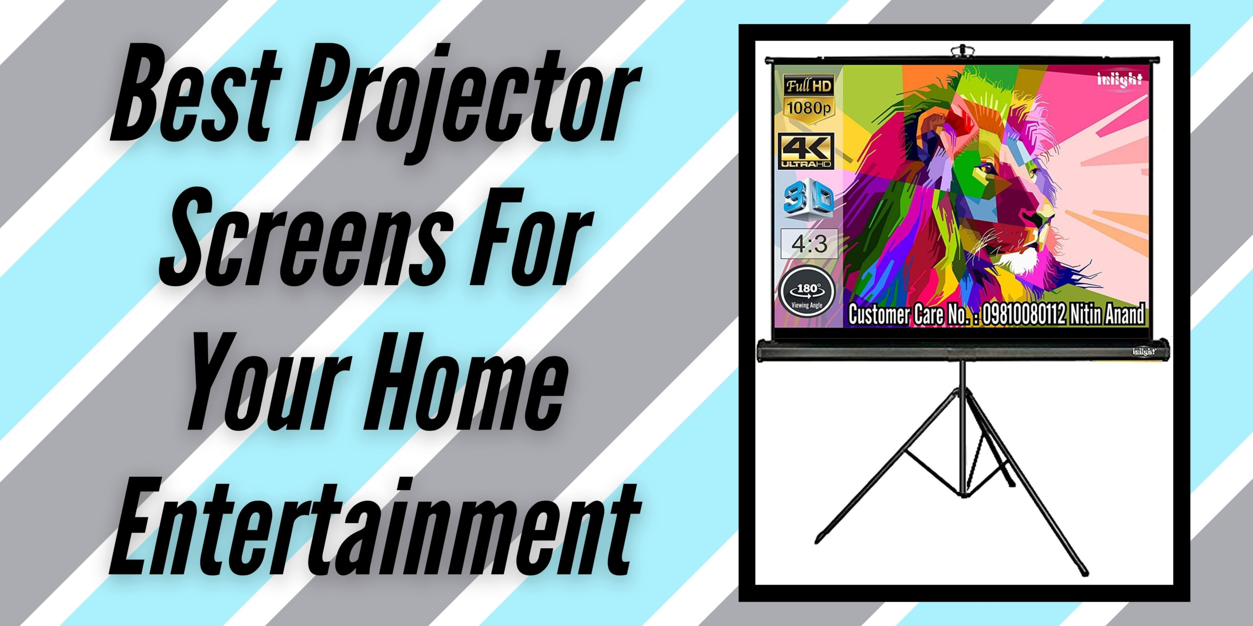 5 Best Projector Screens For Your Home Entertainment